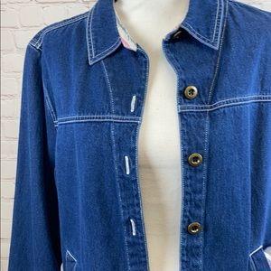 Allison Daley denim jean jacket